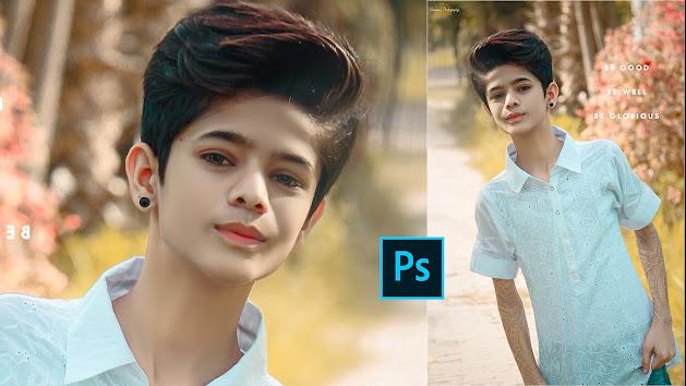 Adobe Photoshop CC White Skin Photo Effect Colour Grading | Easy Technique Camera Raw Photoshop CC