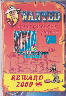 Lucky Luke, Wanted, Calamity Jane, 2001