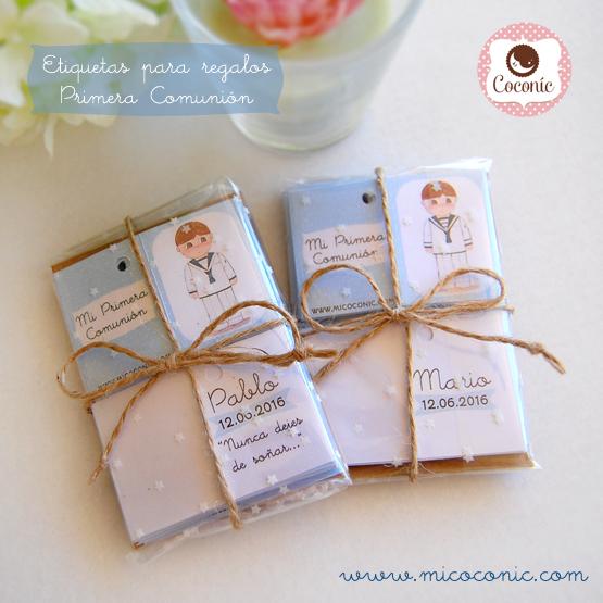 regalos comunion personalizados