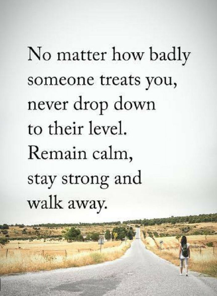 Quotes No Matter How Badly Someone Treats You Never Drop Down To