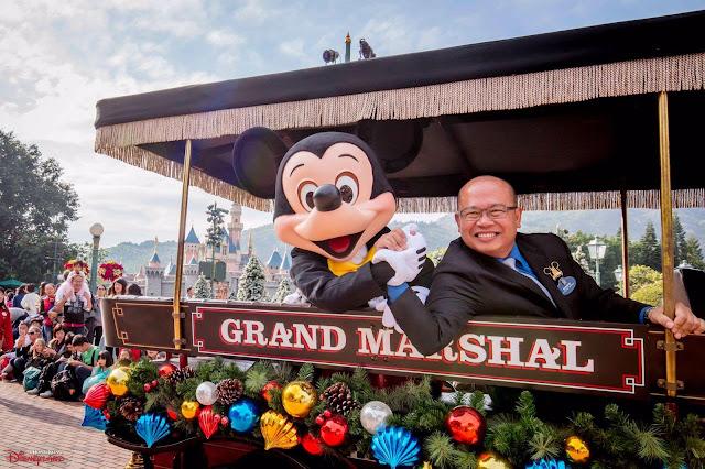 香港迪士尼成第二個家, 爸爸Sammy Sir成女兒Louise的啟發來源, Hong Kong Disneyland