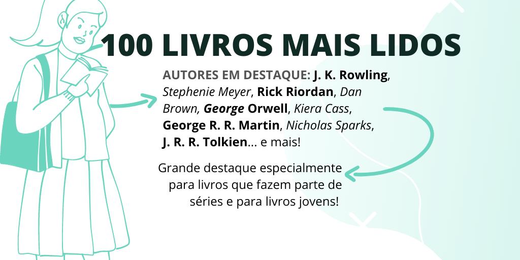 livros mais lidos no brasil