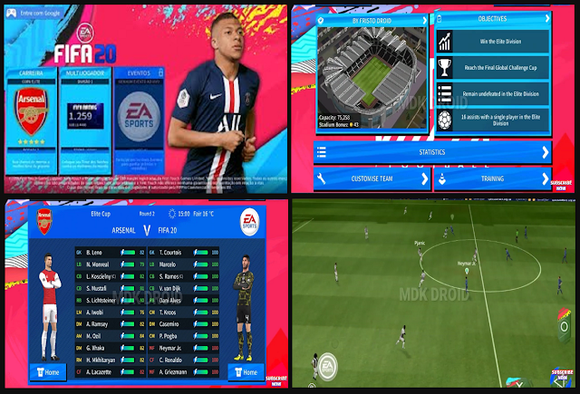 Download DLS V6.13 MOD FIFA 20 APK DATA OBB for Android