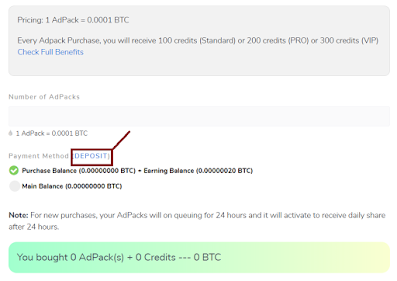 adbtcs purchase adpack