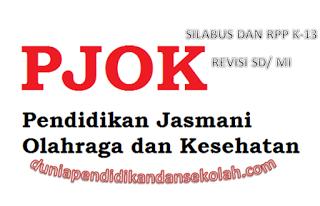DOWNLOAD RPP DAN SILABUS PJOK LENGKAP REVISI 2017 KELAS 2,4,5 DAN 6 KURIKULUM 2013