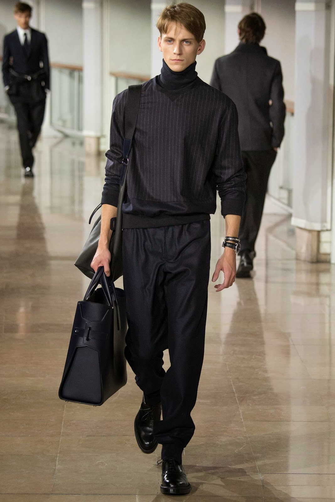 77a5c82f6eb5 FASHION BY THE RULES  Hermès by Véronique Nichanian.. fall 2015 men s