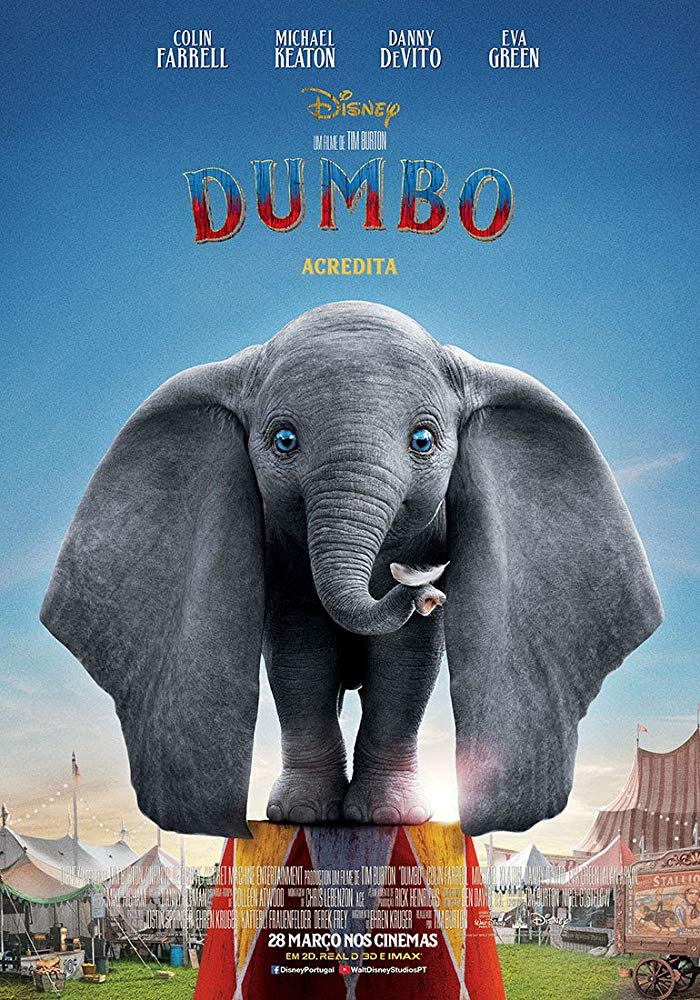 Capa do Filme Dumbo