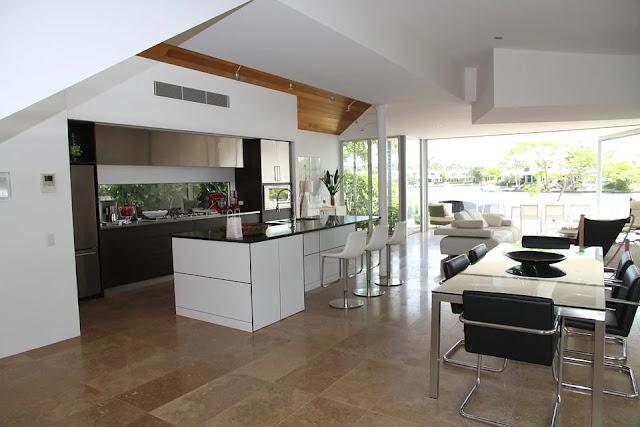 cucina-soggiorno-open space-arredamento