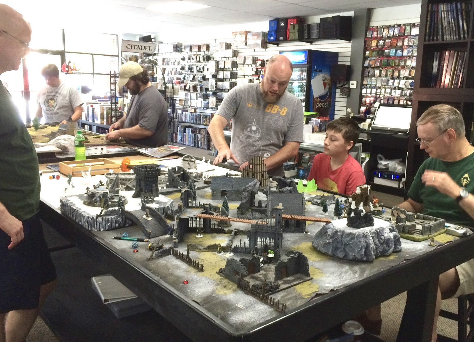 Frostgrave table view