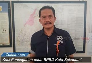 Kasi Pencegahan BPBD Kota Sukabumi