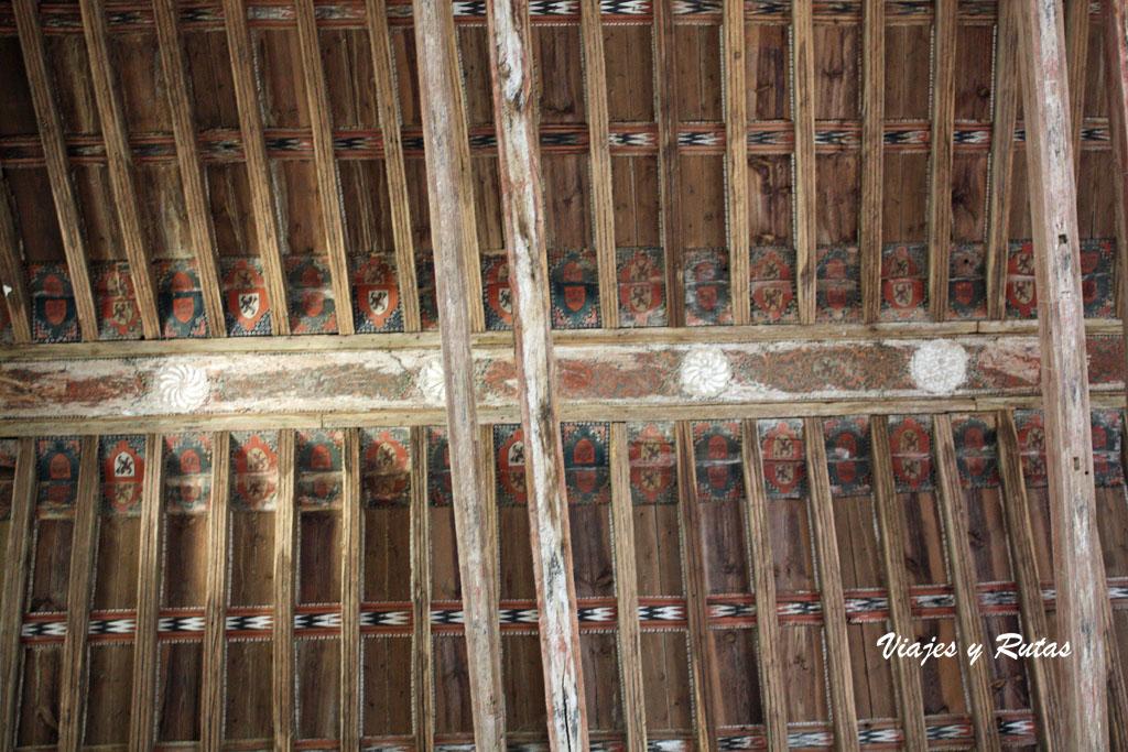 Cubierta del Monasterio de San Miguel de Escalada, León