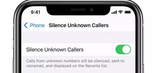طريقة حظر مكالمات غير المعروفة  في أندرويد وآيفون
