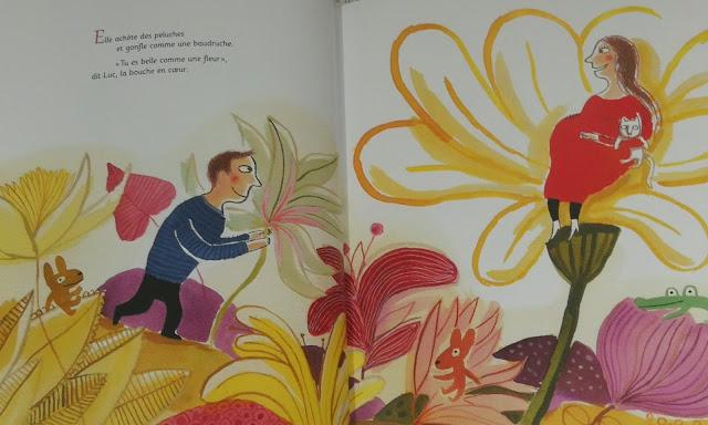 livre enfant pour annoncer une naissance