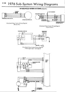 1976 Models Windshield Wiper Wiring Diagrams   Online