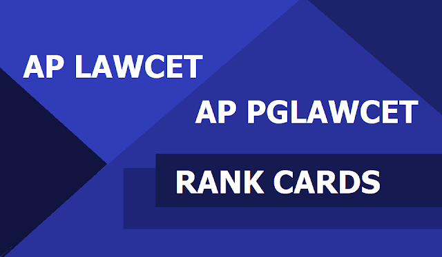AP LAWCET Rank Cards and AP PGLAWCET Rank Cards to be released on May 20