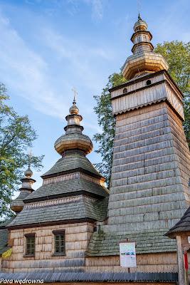 Wieże cerkwi w Kwiatoniu