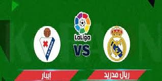 موعد مباراة ريال مدريد وايبار في الدوري الاسباني وقنوات النقل والمعلق