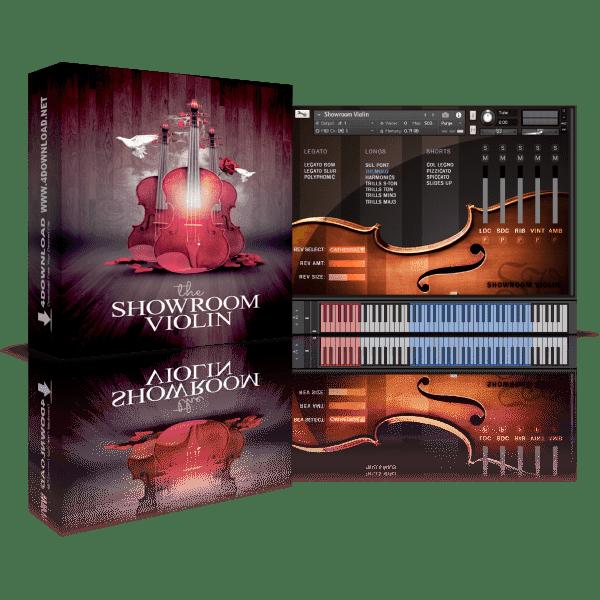 VSTbuzz The Showroom Violin KONTAKT Library