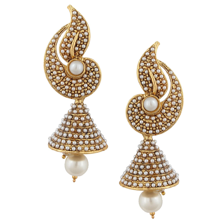 Elegant Diamond Jhumka Earrings Designs | Jewellry\'s Website
