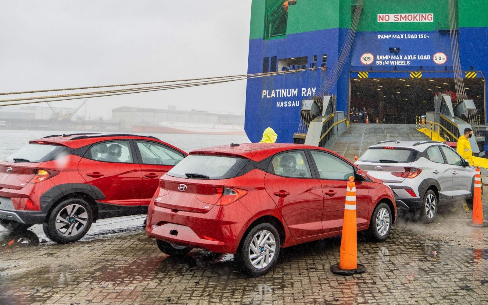 Exportações de veículos do Brasil cresce em 2021 com dólar valorizado