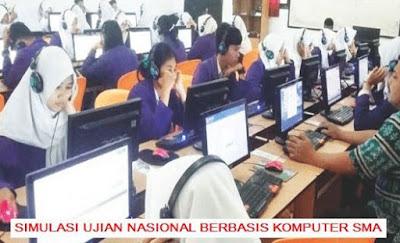 Latihan Soal Simulasi UNBK SMA 2019 Plus Kunci Jawaban (Sekolah Menengah Atas)