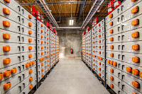 A Portland General Electric energy storage system. (Credit: PGE/flickr) Click to Enlarge.