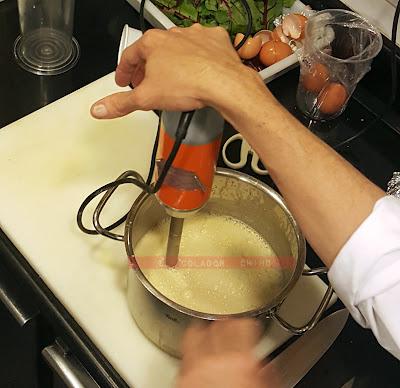 Curso avanzado cocina Escuela Hofmann Barcelona Royale de foie elcoladorchino