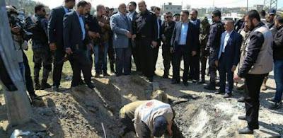 استهداف موكب رامي الحمدالله رئيس وزراء فلسطين بغزة