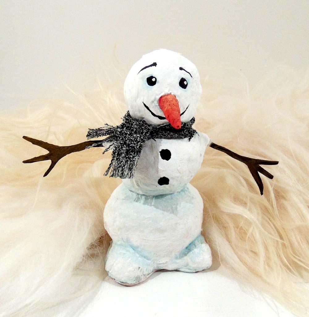 снеговик из холодное сердце выкройка