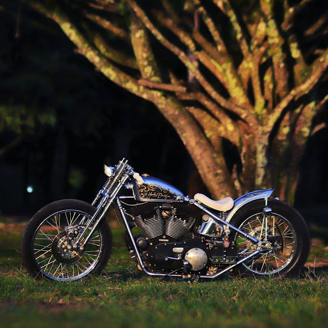 Harley Davidson Sportster 2007 By Coffee Gasoline Garage Hell Kustom