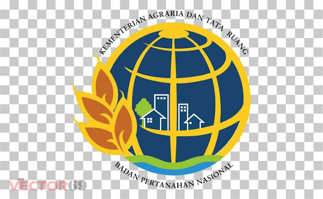 Logo Kementerian Agraria dan Tata Ruang - Badan Pertanahan Nasional (ATR-BPN) Indonesia - Download Vector File PNG (Portable Network Graphics)