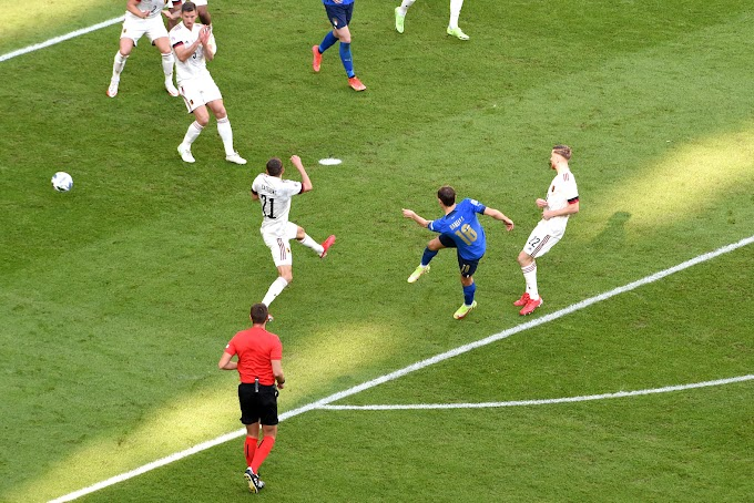 La finalina va agli azzurri: 2-1 al Belgio con super gol di Barella
