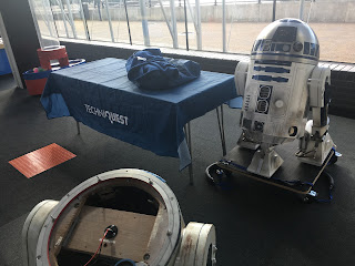 Techniquest, May the 4th be with you, R5D4, R2D2