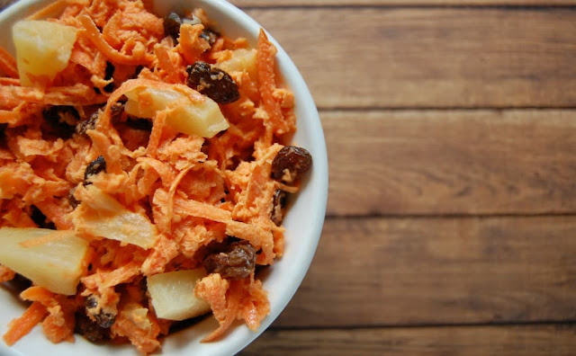 Carrot slaw recipe | carrot cabbage salad