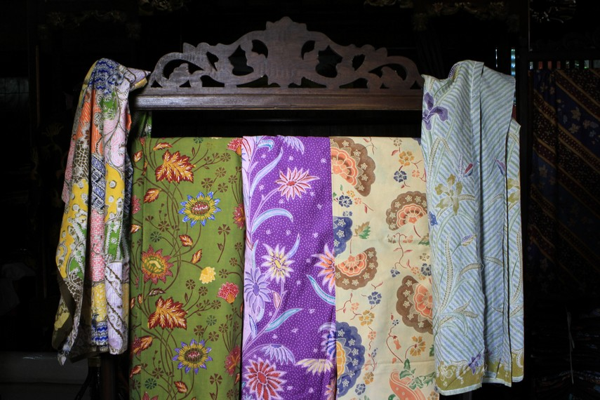 Kumpulan kain batik Pekalongan