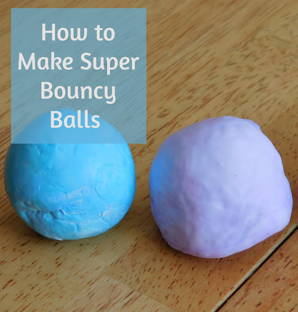 How to make super bouncy balls