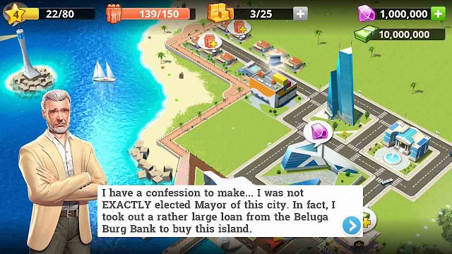 cheat little big city 2 android unlimited diamond
