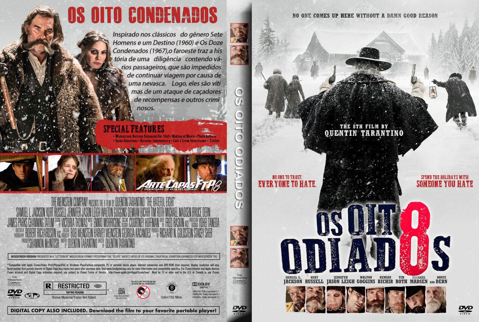 Os Oito Odiados DVDRip XviD Dual Áudio Os 2BOito 2BOdiados 2B  2BXANDAODOWNLOAD