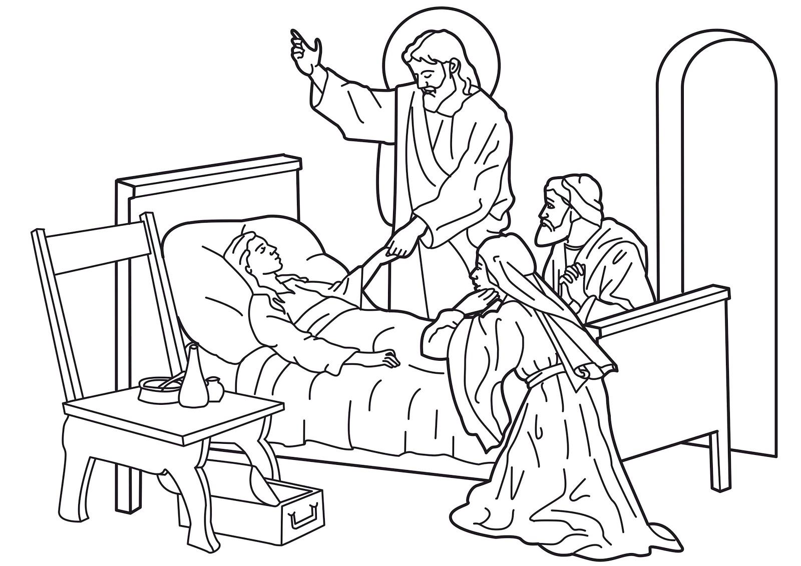 SGBlogosfera. Amigos de Jesús: RESURRECCIÓN DE LA HIJA DE