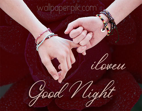 i love you romantic good night images