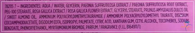 Ingredientes Lenço MIcelar 5 em 1, da L'Oréal