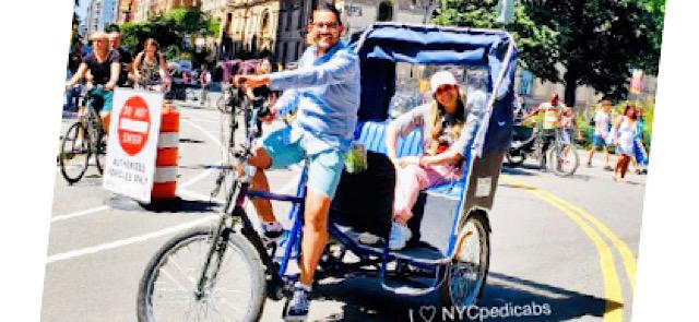 New York City Pedicab Tours