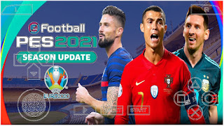 Download PES 2021 PPSSPP Android Euro 2020 Edition Best Graphics HD & Full Transfers November