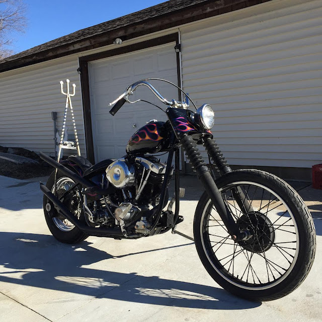 Harley Davidson Shovelhead 1974 By Kenny Slaughter Hell Kustom