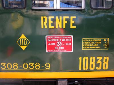 Modelo de la locomotora del Tren dels Llacs