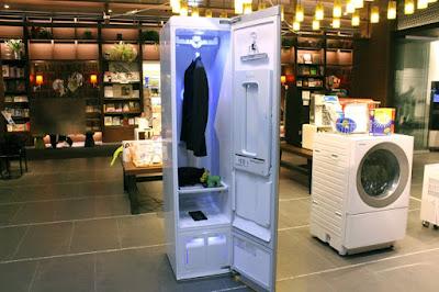 Dịch vụ giặt là cao cấp Q.A.P sử dụng các dòng máy hiện đại đại nhất đến từ LG - Dòng STYLER TROMM