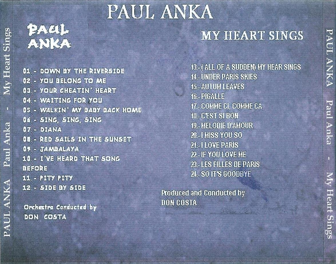 Cd Paul Anka - 2 Lp's on 1 Cd Paul%2BAnka%2B2%2Blp%2Bon%2B1%2Bcd%2B%2BBack