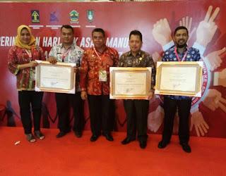 Kabupaten OKI Raih Penghargaan Peduli HAM