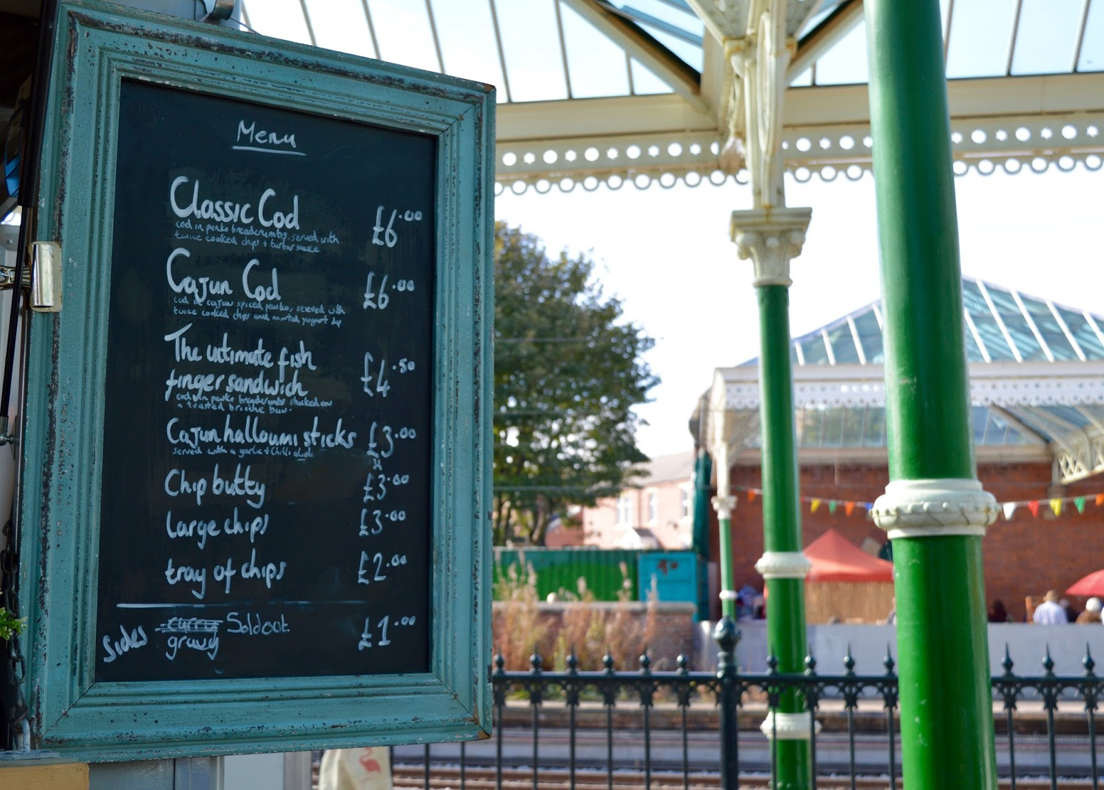 The Little Fishy | Mobile Fish & Chips at Tynemouth Market - A Review - menu