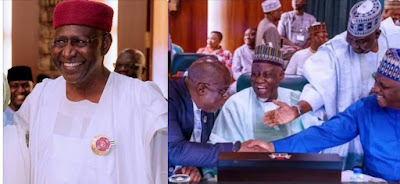 Coronavirus: See APC Governors, Leaders Abba Kyari Greeted With Handshake After Returning Before Tested Positive